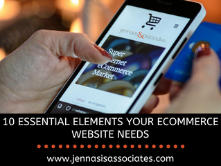 10 Essential Elements Your Ecommerce Website Needs