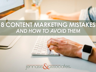 8 Content Marketing Mistakes and How to Avoid Them