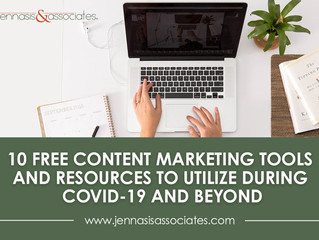 Ten Free Content Marketing Tools and Resources to Utilize During COVID-19 and Beyond