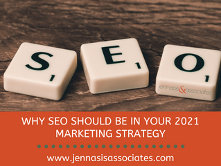 Why SEO Should Be in Your 2021 Marketing Strategy