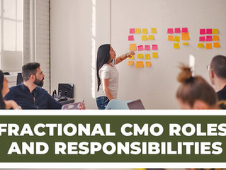 Fractional CMO Roles and Responsibilities