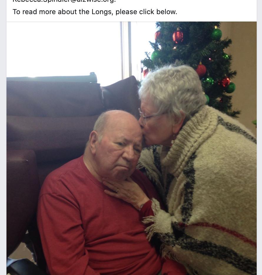 Alzheimer's Walk: Steve and Diane