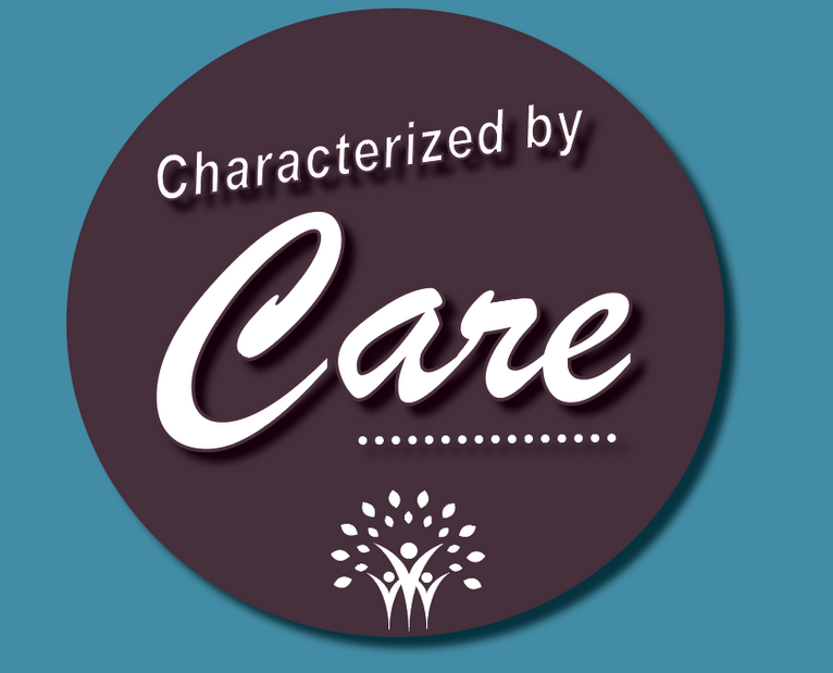 Characterized by Care Campaign Logo
