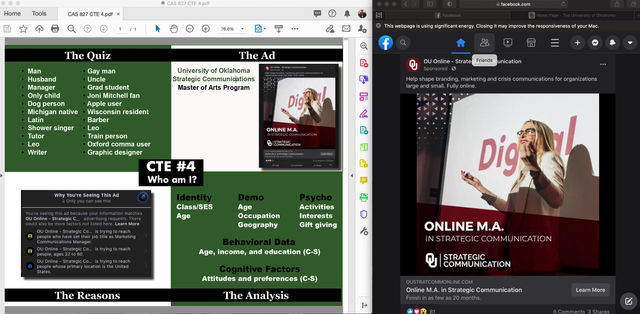 Social Media Targeting & the Grad Student [VIDEO]