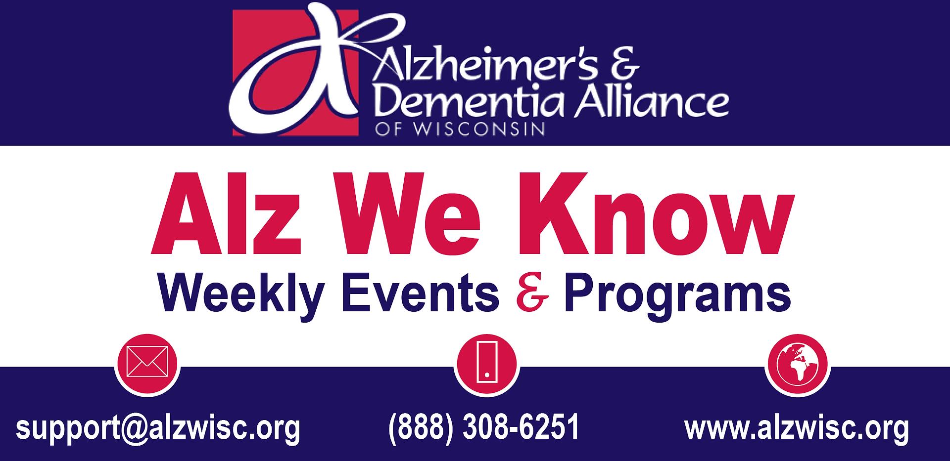 Alz We Know Newsletter Header