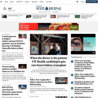 Digital Metrics: Twitter and the Wisconsin State Journal