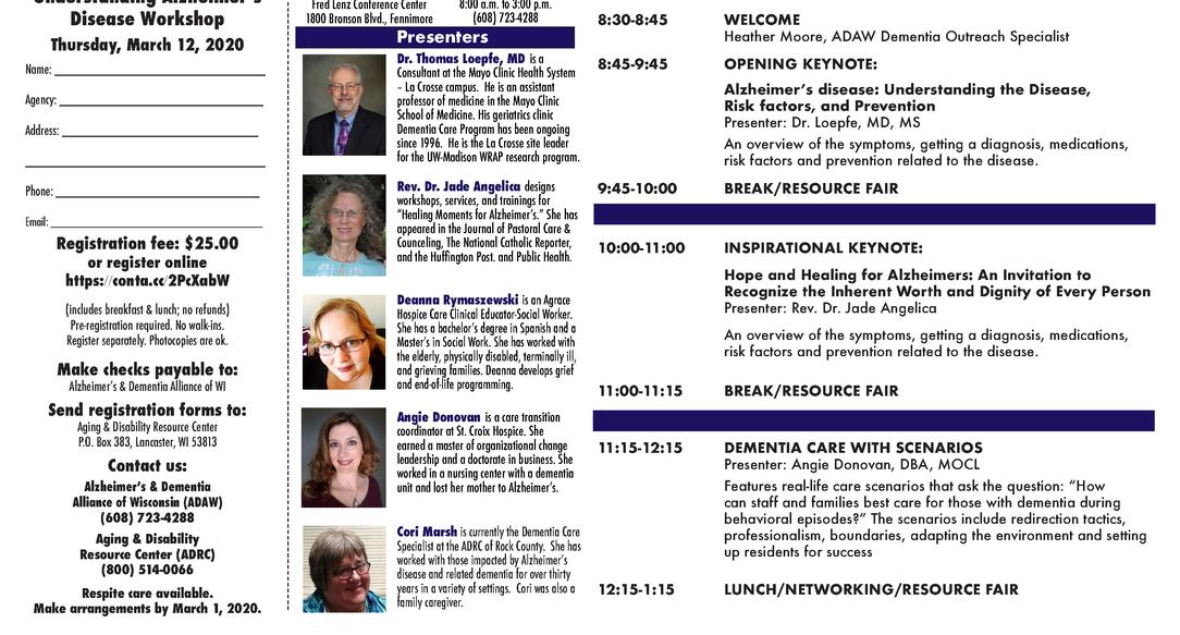 Conference Flyer (inside)