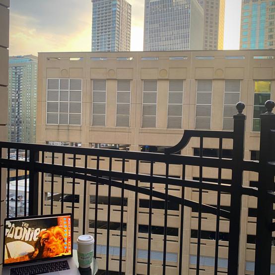 Coffee on the Balcony 2