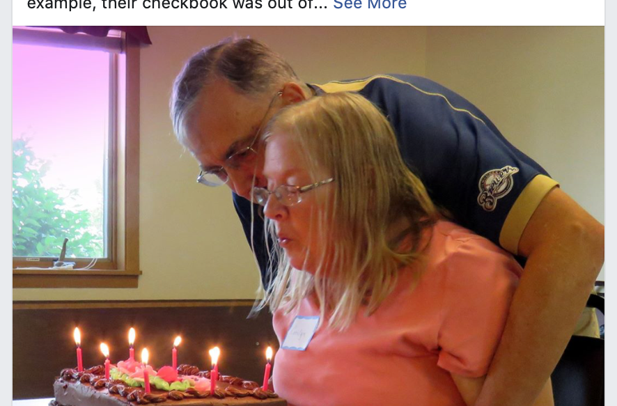 Kent and Carolyn: Alzheimer's Walk Facebook Post