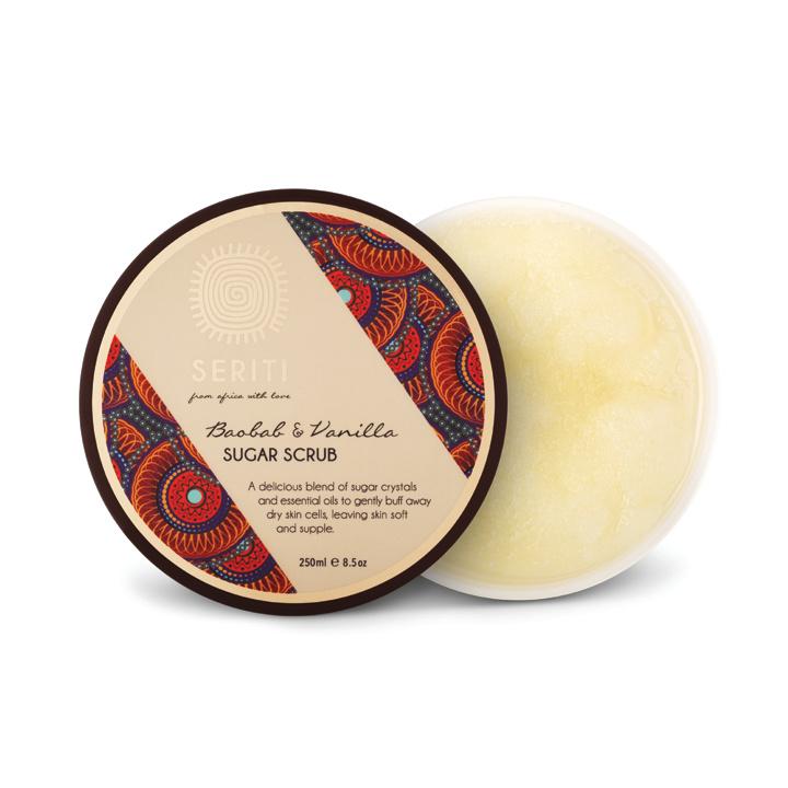 Baobab & Vanilla Sugar Scrub