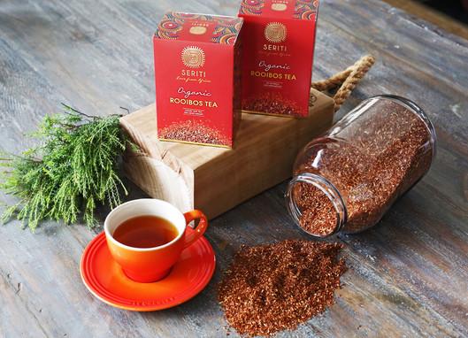 Seriti tea packaging design