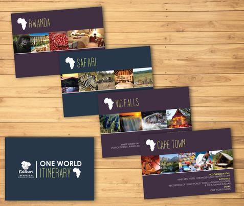 One World Itenary
