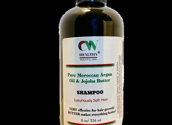 Pure Moroccan Argan Oil & Jojoba Butter Shampoo 8oz