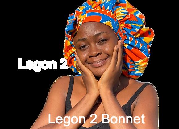 Legon 2 Tie Bonnet