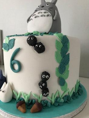 Gâteau Totoro de Clément