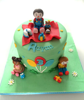 Gâteau Tchoupi de Rayan