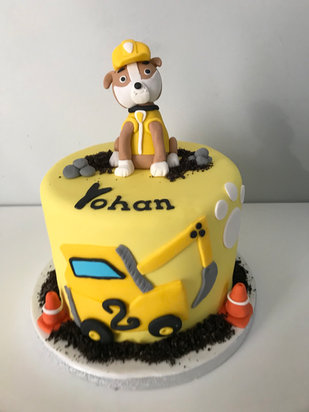 Gâteau Ruben Pat'Patrouille de Yohan