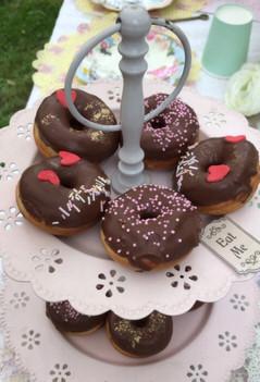 Mini donuts choco