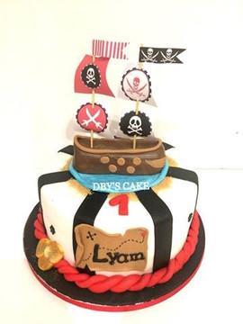 Gâteau pirate de Lyam