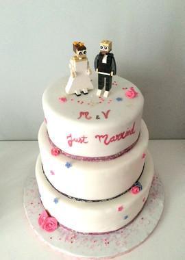 Wedding Cake Légo de Margot et Vincent