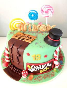 Gâteau Charlie & la chocolaterie_