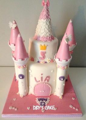 Gâteau princesse de Lia