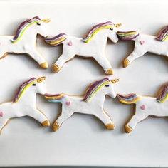 Sablés licornes