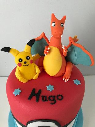 Gâteau Pokemon de Hugo