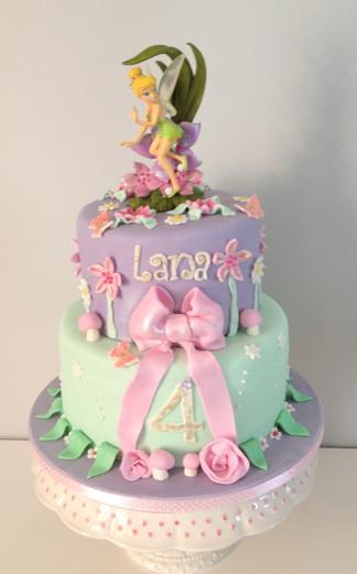 Gâteau fée clochette de Lana