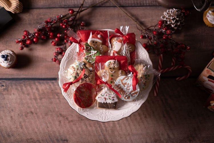 Les boîtes de noël by Dby's Cake