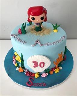 Gâteau Ariel de Sarah
