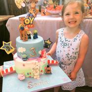 Gâteau Toy Story de Sofia