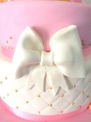 Gâteau de princesse pour le baptême de Sabela.