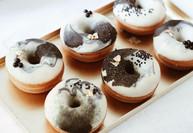 Mini donuts effet marbré