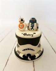 Gâteau Stormtrooper de Gaby