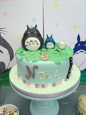Gâteau Totoro de Nola