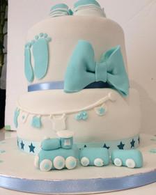 Gâteau Baby Shower Boy