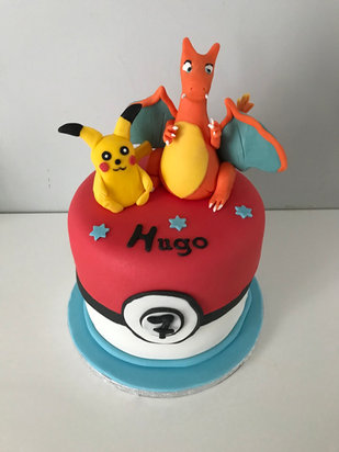 Gâteau Pokemon de Hugo