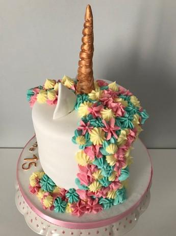 Gâteau Licorne de Solène