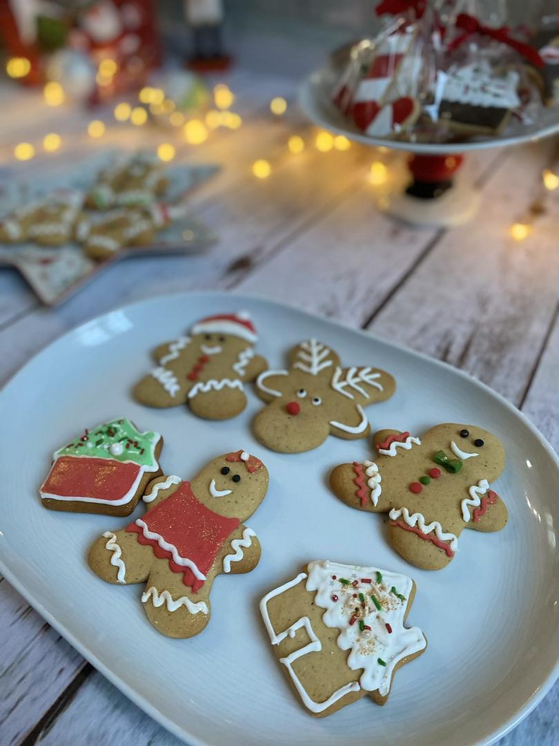 Biscuits bonhommes pain d'épices