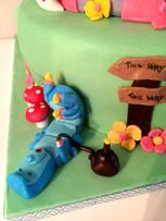 Gâteau Alice aux pays des merveilles