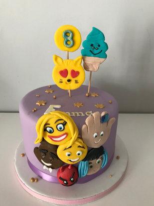 Gâteau Emojii