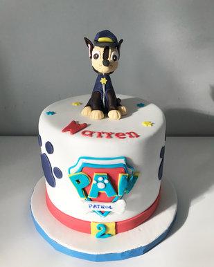 Gâteau Chase Pat'Patrouille de Warren