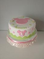 Gâteau Mickey, tons pastels, de Louise