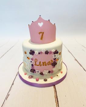 Gâteau princesse de Lina