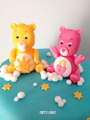 Gâteau Bisounours de Hugo & Eva