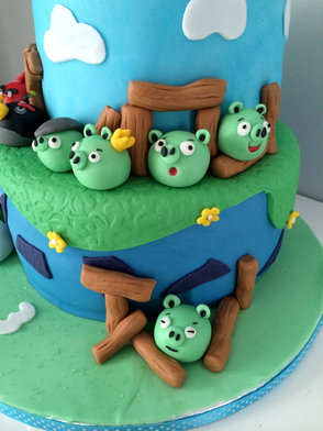 Gâteau Angry Birds de Jonathan