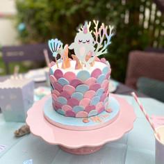 Gâteau narval de Mila