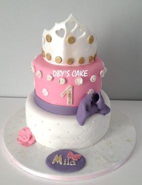 Gâteau princesse de Mila