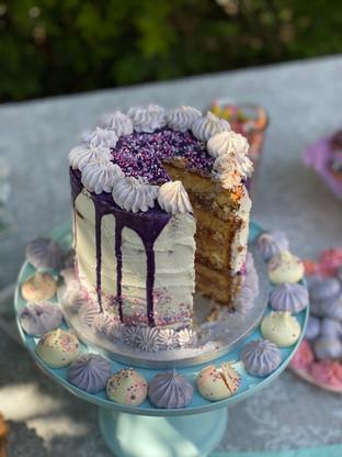 Layer Cake Vanille/chocolat au lait/kinder